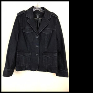 Attention Lined DenimJacket Size 16